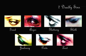 7 deadly sins, by dancingperfect