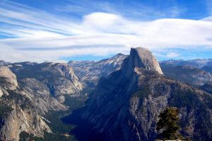 Half Dome at Yosemite II by esee