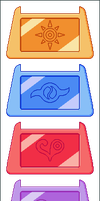 Digimon Crests by Wooded-Wolf