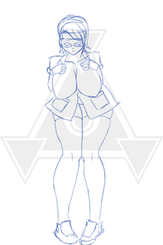 Sarada Uchiha nurse select [sketch] by yatzyel
