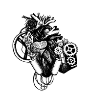 mechanical heart. vector version by mew-purr