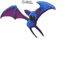 Kanto no. 041 Zubat by Randomous