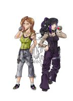 Commission: Lisa and Maken by Vero-chan