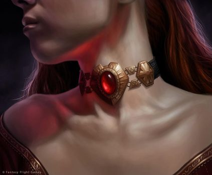 Ruby of Rhllor by R-Valle