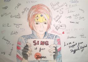SINGitforjapan by amzzz123