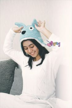 My Chu Totoro Hat by her-name-is-ajeng
