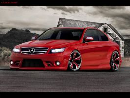Mercedes C63 by anatre