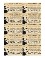 Ron Paul Tip Card by Jan3090