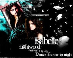 Isabelle Lightwood by freedomfighter12