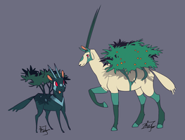 Oryx Fakemon by MadCookiefighter