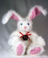 White Rabbit Plush 2 by The-GoblinQueen