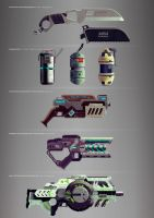 weapon set 1/2 by radiolol