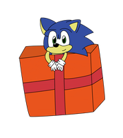 Happeh 22nd b-day Sonic by 1horsey10