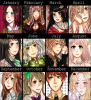 2014 Summary of Art by Aka-Ai