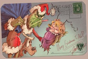 Merry Grinchmas by jusscope