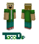 Jeff from american dad Minecraft skin by TacoDip
