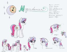 MLP:MR - Moondancer Reference Sheet by Sonic-Spatula