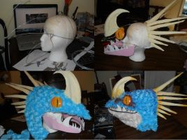 Progress Photos of Stormfly by Exile-wolfy