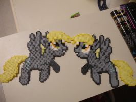 2 New Derpy Perler's for Sale by bunnimation