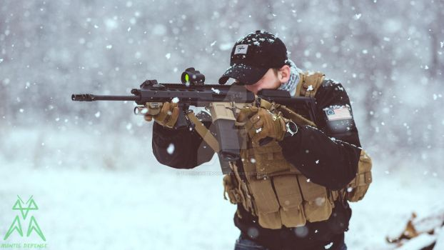 Mantis Defense - Trijicon MRO - Winter by truthcanbebought