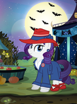Nightmare Nights 2015- Rarity by PixelKitties