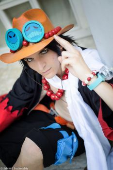 One piece - Portgas D. Ace! by EduardLuzhetskiy