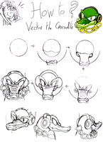 How To ? Vector the Crocodile by RaianOnzika