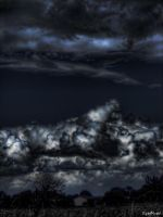 False cloudy night by digitalminded
