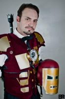 Steampunk Iron Man by Challenger70TA