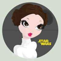 Princess Leia by Indy-Lytle