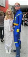 Cyclops and Emma Frost by MJ-Cosplay