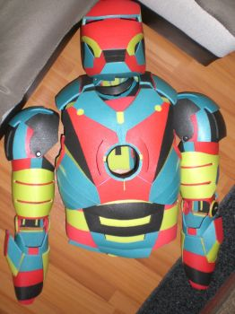 Iron Man Mark 3 Harlequin by AndChi