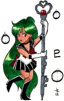 Super Sailor Pluto by jenni0014