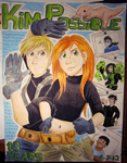 Kim Possible 10th Anniversary Poster by Blairaptor