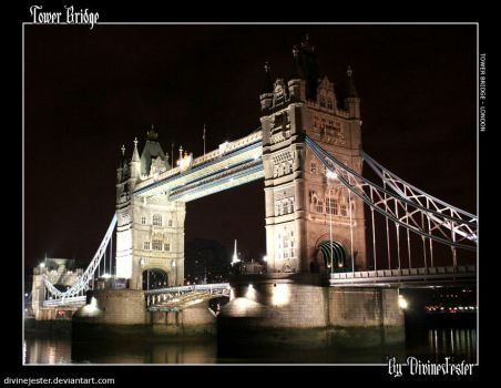 Tower Bridge by divinejester