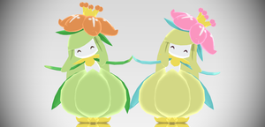 [MMD Download] Lilligant by Supurreme