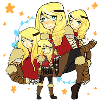 Doodle Page : Astrid by xineli