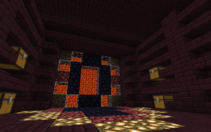 Nether Portal Room by AussieMine