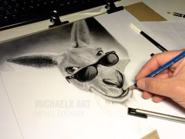 WIP pencil drawing by byMichaelX