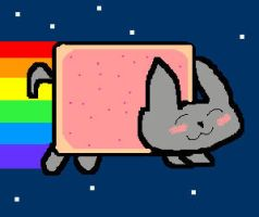 Nyan Cat by Snowy12221