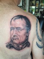 Napoleon Tattoo by Green-Jet