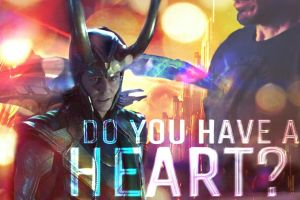 Do You Have A Heart--(Loki WallPaper) by MischievousMonster