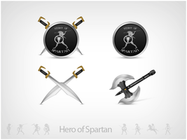 Spartan - Icons by leofiger