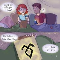 The First Rune of Clarissa Fray by lizthefangirl