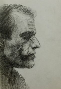 Joker: A Pencil Study by vee209