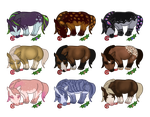 RNG Mushies for Christmas 2014 by Ackerley