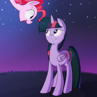 No, Pinkie, you're not the moon. by January3rd