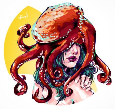 Octopus | Face by Viival