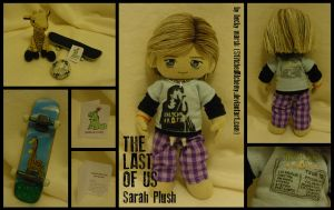 The Last of Us: Sarah Plush by StitchedAlchemy