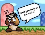 Headache Goomba by Life-Of-The-Machine
